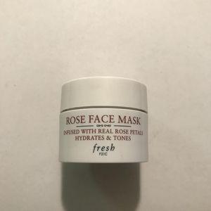 5 for $25! Fresh Rose Face Mask